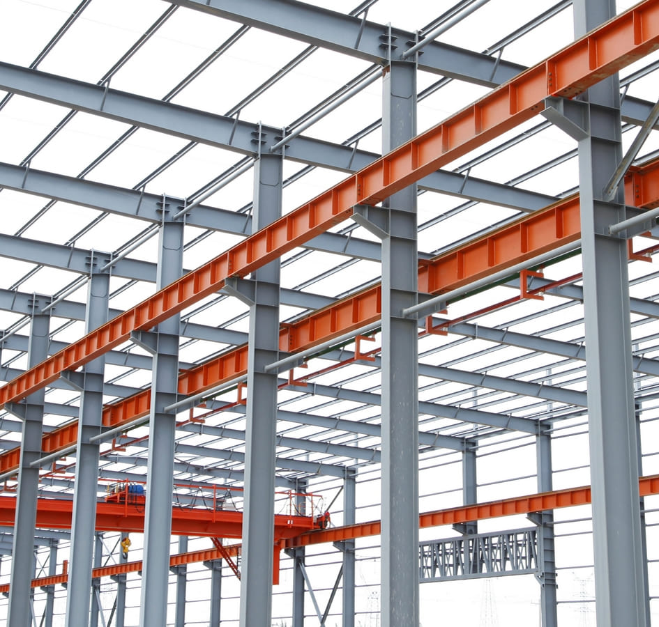 Engineering services for metal and concrete structures